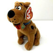"""TY Beanie Babies SCOOBY-DOO DOG 6"""" Plush STUFFED ANIMAL Toy NEW"""