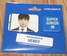 SUPER JUNIOR M SJ-M SMTOWN COEX Artium SUM OFFICIAL GOODS HENRY MAGNET SET