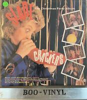 SLADE~CRACKERS ~THE CHRISTMAS PARTY ALBUM~LP 1985......ROCK / POP EX / EX CON