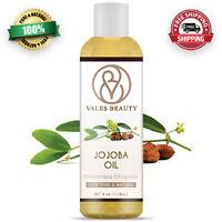 Jojoba Oil Golden 4 oz 100% Pure Natural Carrier Oil For Skin Hair & Massages