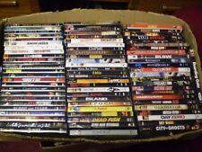 (80) Action Adventure DVD Lot: LOTR Boondock Saints  Denzel  Tom Cruise The Rock