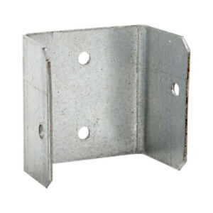 40 PACK - 44mm FENCE & TRELLIS CLIPS BRACKET PANEL FIXING GARDEN POST FENCING