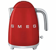 SMEG Red Electric Kettle Cordless KLF03RDUK 1.7L Retro 50's 2 Year Guarantee