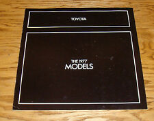 Original 1977 Toyota Car & Truck Full Line Sales Brochure 77 Celica Land Cruiser