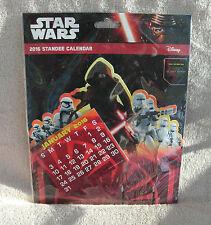 Star Wars Episode VII 2016 Standee Calendar ~ NEW