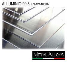 Lamiera Alluminio spessore mm 1 1,5 2 2,5 3 4 5 6 IN DIVERSE DIMENSIONI Lamina