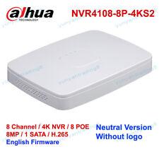 Dahua Neutral Version NVR4108-8P-4KS2 8Ch 8PoE 4K&H.265 Network Video Recorder