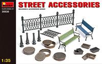 Miniart 1/35 Street Accessories