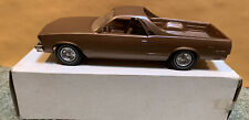 Dealer Promo Model Car 1979 Chevrolet El Camino  Brown Metallic MPC Boxed CLEAN!