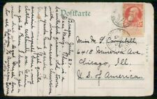 Mayfairstamps Belgium Commercial 1907 Postcard Bruxelles To Chicago Il Usa wwh83