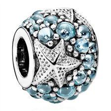Genuine Pandora Oceanic Starfish Charm Silver S925 ALE 791905CZF