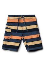 87f0b172c0 Volcom Boys 5/m Magnetic Liney Blue Yellow Orange Surf Swim Mod Board Shorts