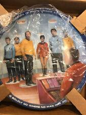 Star Trek Beam Us Down Scotty Porcelain Plate Series Ernst Hamilton Collection