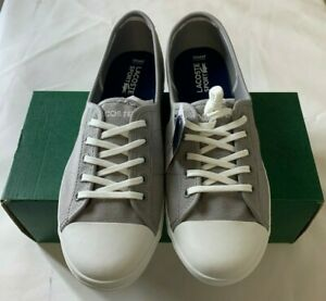 Lacoste Zaine LCR2 SPW sneakers for WOMENS Gray, Blue Size 10 New With Box