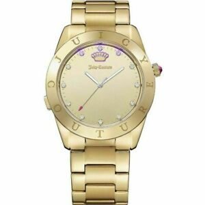 Juicy Couture Women's Smartwatch 1901500-Gold-Brand New