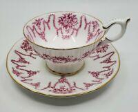 CoalPort Tea Cup and Saucer Bone China England A.D. 1750
