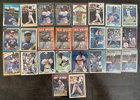 FRED MCGRIFF Baseball Card Lot 1987 Fleer Update  Rookie RCU-75 +++ Blue Jays