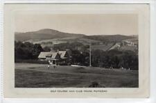 More details for golf course and club house, rothesay: isle of bute postcard (c39042)