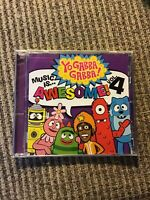 Music Is...Awesome!, Vol. 4 by Yo Gabba Gabba! (CD), OOP BRAND NEW!!