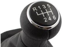Pomo Funda Palanca de Cambio 6 Velocidad para VW Passat B5 FL (2000-2005) NEGRO