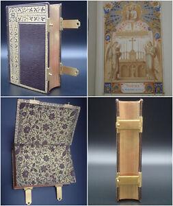 1889 Rare Missel à Fermoir Bel état Paroissien Romain Reliure Religion Messe Roi