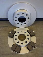 AUDI A4 1.8T 1.9TDI 2.0FSI 2.5TDI B6 2001-05 BRAKE DISC BRAKE PAD REAR 255MM