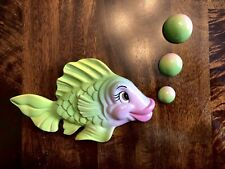 Chalkware Fish For A Vintage Or Retro Theme Wall Plaque Similar To Miller Studio