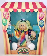Cabbage Patch Doll Circus Kids Clown 1985 Coleco w/Birth Certificate N.O.S.