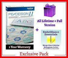 Brother PE Design 11 Digitizing  + Gift ⭐INSTANT DELIVREY⭐