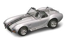New In Box  Road Signature 1/43  Diecast Silver 1964 Shelby Cobra 427 S/C