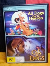 All Dogs Go To Heaven / Cats & Dogs (DVD, R4, 2-Disc Set)