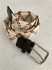 """New"" Royal Albartross Golf Size Medium-38-Ivory Multi Web Belt"
