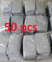50X PM2.5 Activated Carbon Filter 5 Layer Replaceable For Face Mask Cover Safety