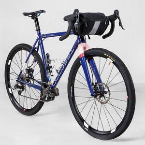 3L Bicycle Handlebar Bag MTB Road Bike Front Tube Pack Pannier Handbag Pouch AU
