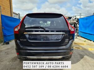 Volvo XC60 2014 Black Auto 2.4L  Wrecking parts, panel, gearbox etc for sale