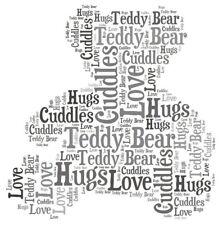 Personalised Teddy Bear Art Print Great Gift Baby Son Daughter Friend Birthday