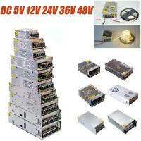 Power Supply Driver AC 220V to DC 5V 12V 24V 36V Transformer Regulated LED Light