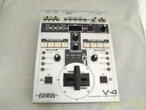 <Junk> Roland Edirol V-4 4 Channel Video Mixer Switcher with power cable
