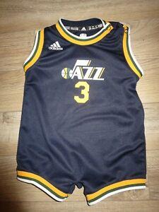 Trey Burke Utah Jazz NBA adidas Trikot Baby Kleinkind 24m
