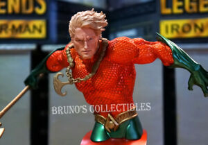 New 52 Aquaman Bust DC Comics Super Heroes Statue DC Collectibles