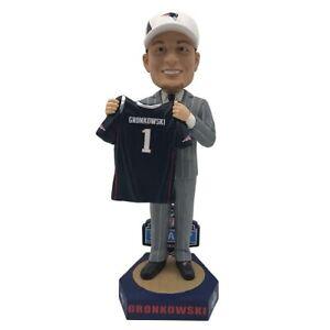 Rob Gronkowski New England Patriots Wildcats 2010 Draft Day Bobblehead NFL