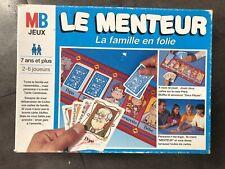 """JEU DE SOCIETE """" LE MENTEUR """"   MB COMPLET EN BOITE"""