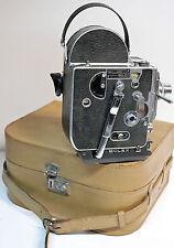 CAMERA PAILLARD BOLEX H 16  SUPREME - semelle plate -16 mm - 1953 - N° 61842
