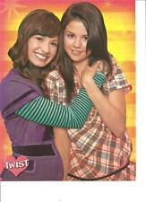 Selena Gomez and Demi Lovato, Full Page Pinup