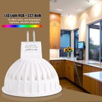 Milight Wireless MR16 4W LED Birne Licht RGB + CCT Lampe Dekor Farbwechsel.