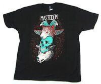 Mastodon Totem Pole Black T Shirt New Official Band Merch