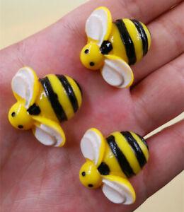 DIY 4/20PCS Bee 29X28MM charms Flatback Resin Cabochon Scrapbooking/Crafts