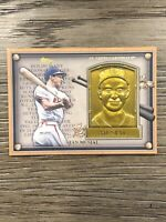 2012 Topps Update Gold Commemorative Hall Of Fame Plaque Stan Musial