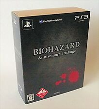Capcom PS3 Biohazard Anniversary Package From Japan rare game F/S