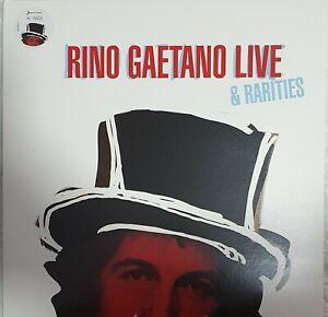 Rino Gaetano Live & Rarities 2009 Doppio Lp Numerato